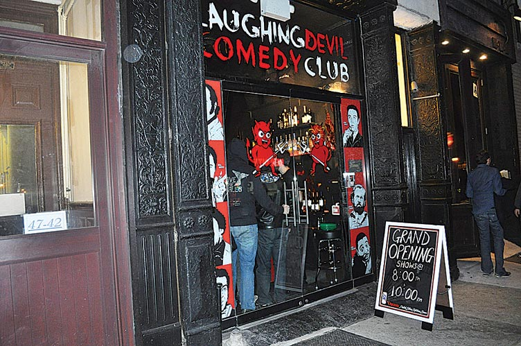 The shorts shine at Laughing Devil Comedy Club 1