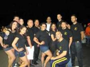 Comrie co-hosts salsa night 