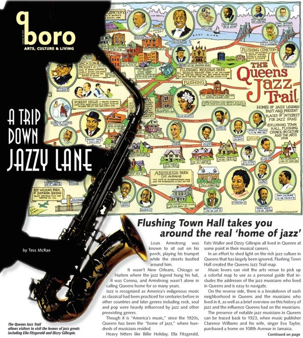 A self-guided jazz tour through Queens 1