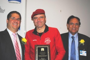 Sliwa wows cancer survivors at NYHQ 1