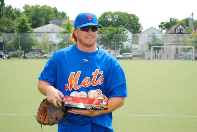 Junior Mets hang with the big leaguers