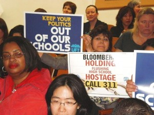 Flushing HS to mayor: Don't close our school 1