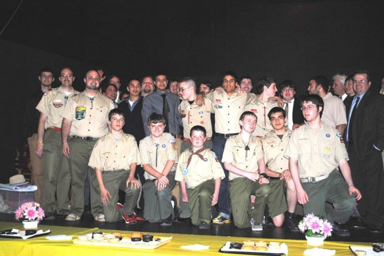 Legacy of scout leader highlighted 1