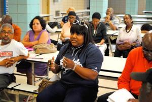 Speeding meeting airs residents' fears 1