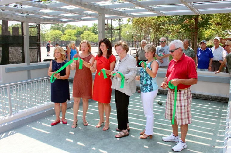 Juniper Valley Park opens again for bocce 2