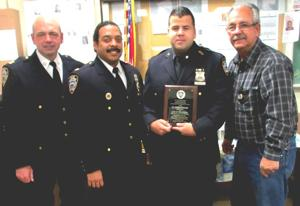 Officer honored for stopping burglary 1
