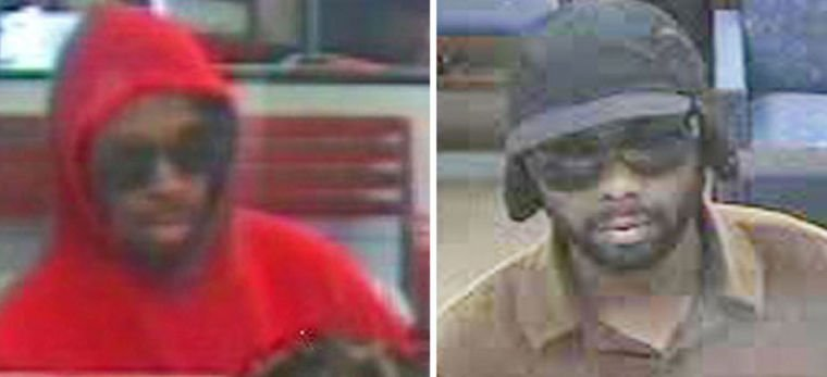 Police search for serial bank robber 1