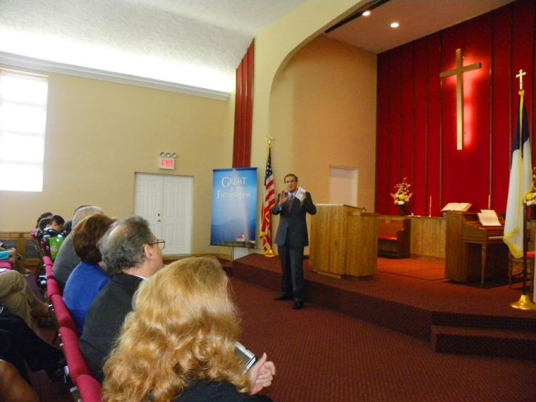 Church damaged in Sandy rededicated 1