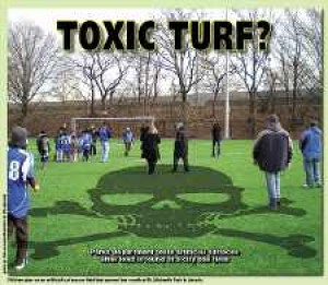 Parks tests artificial surfaces for toxic lead