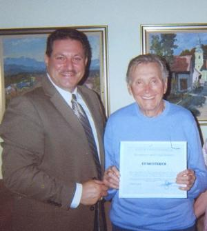 Ed Shusterich awarded 1