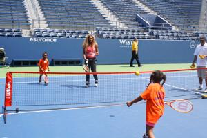 Tennis lessons from a tennis legend