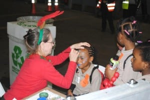 Holiday Hangar Face Paint