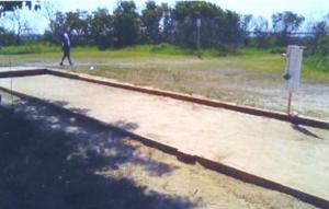 Play bocce in Charles Park 1