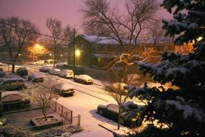 Queens sees a light snowfall 6
