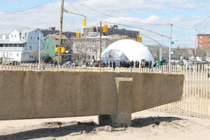 MoMA dome bids Rockaway goodbye 1