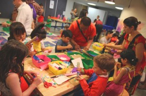 Families get their creative juices flowing 1