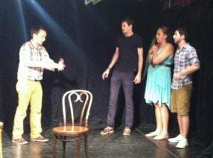 Actors dive into the weird world of improv at QSIC 1