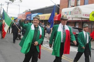 Italian pride show in Columbus Day parade 6