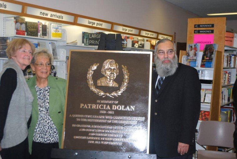 Dolan's memory lives on at library 1