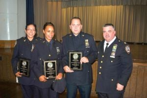 Police are honored for handling of child's death 1