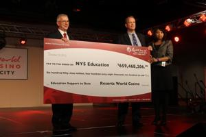 Resorts World Casino New York City holds first anniversary party