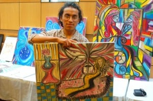 Immigrant workers share their art 1