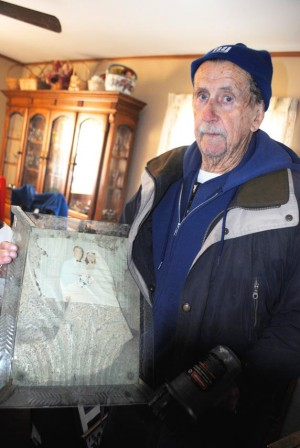 Sandy leaves Navy vet, 80, in the cold  1