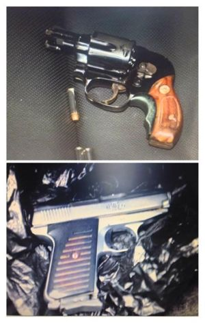Handguns seized in Maspeth 1