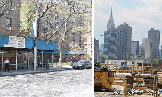 Development impact on Long Island City 1