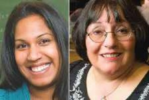 Two Queens math teachers honored