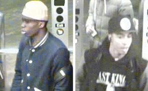 Police still searching for subway stabbers