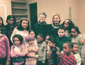 Congresswoman visits kids 1