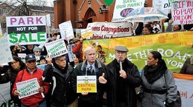 Fairness Coalition Protest