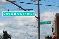 Guy R. Brewer Blvd.: in honor of a fighter