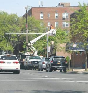 DOT preps Woodhaven Boulevard bus lanes 1
