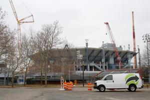 National Tennis Center construction continues 1