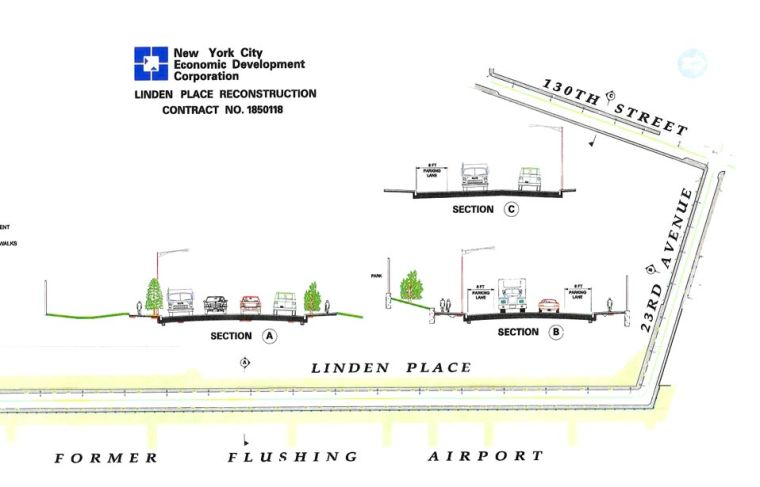 More delays for Linden Place work 1