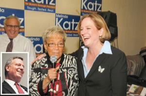 Katz, de Blasio, most Democrats win easily 1