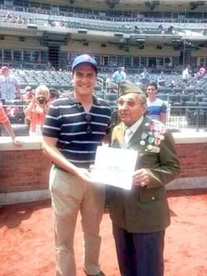 WWII hero honored by Mets 1