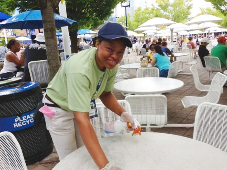 YAI workers are a force at US Open 2