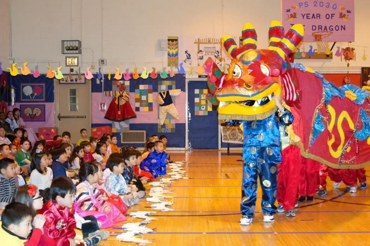 Celebrating Lunar New Year at PS 203