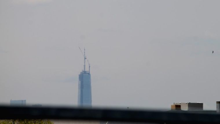 1 WTC: View from Queens 1