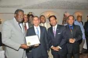 Dignitaries salute Baldeo as he announces council run