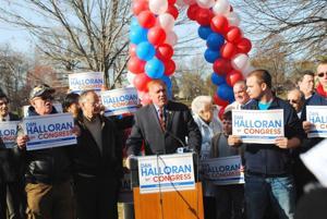 Halloran enters race for Congress 1