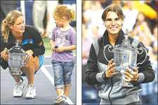 Clijsters and Nadal win top honors at U.S. Open