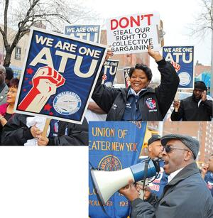 Unions march to honor MLK