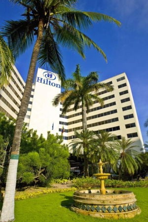 A resort on the rise — the Cartagena Hilton 1