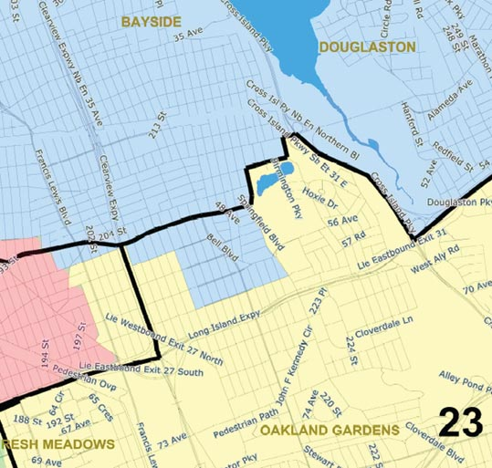 New City Council District maps approved by Districting Commission 1