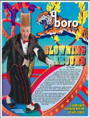 Meet Bello Nock, famous clown and doting dad
