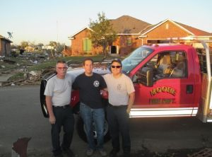 Oklahoma tornado survivors meet Phil Goldfeder 1